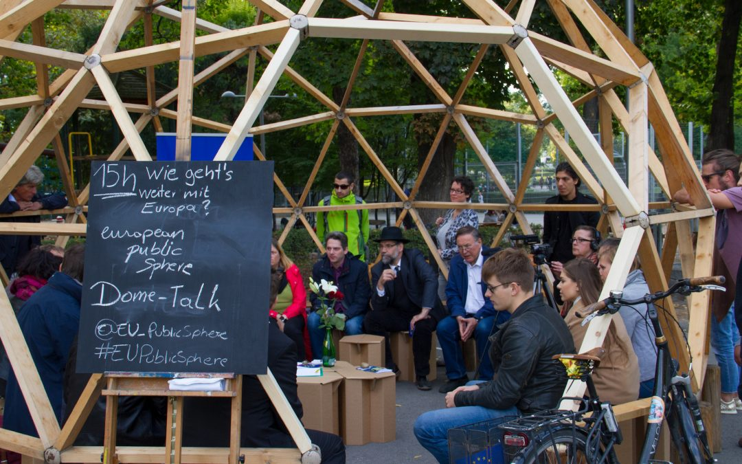 Dome-Talk with Europe-Activists in Vienna