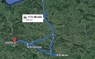 1785 km of Poland 🇵🇱