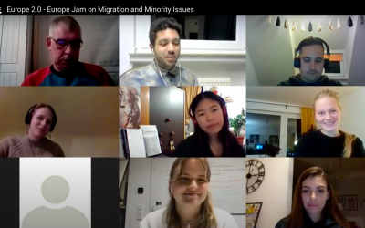 Europe Jam zu Erfahrungen der Migration und Minderheiten 🇪🇺