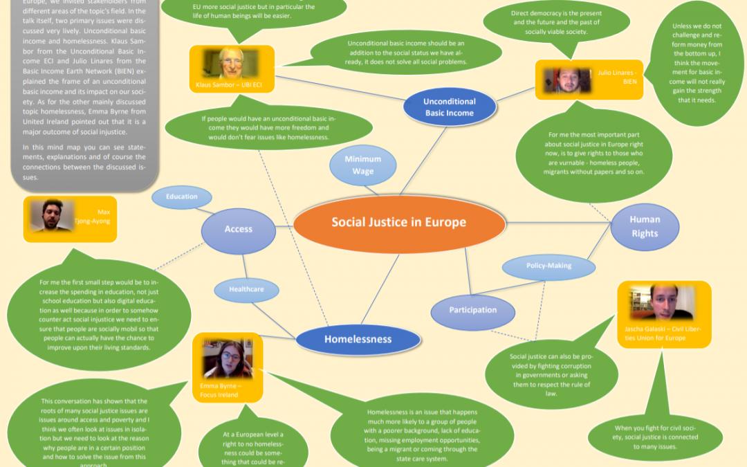 Europe Jam zu sozialer Gerechtigkeit