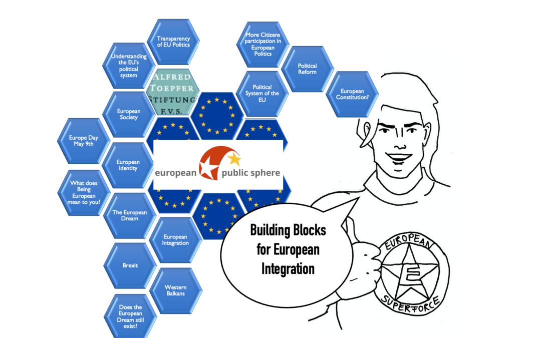 Europe Jam: Die Bausteine für Europäische Integration