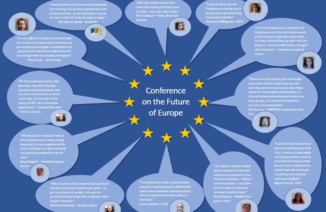Finaler Europe Jam: Die Konferenz zur Zukunft Europas!