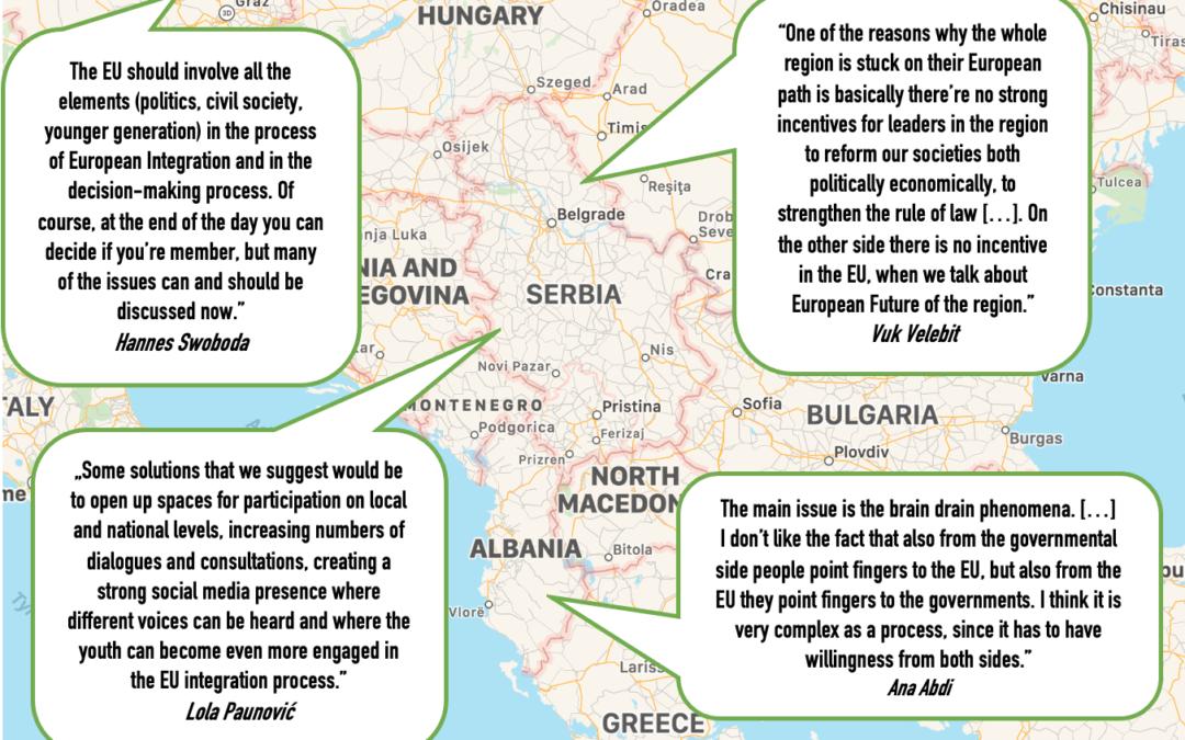 Europe Jam zur EU und dem Westbalkan