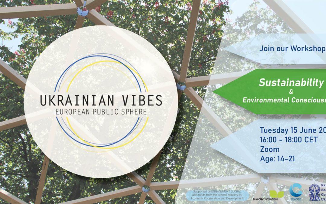 Ukrainian Vibes – Stop 2: Nachhaltigkeit und Umweltbewusstsein