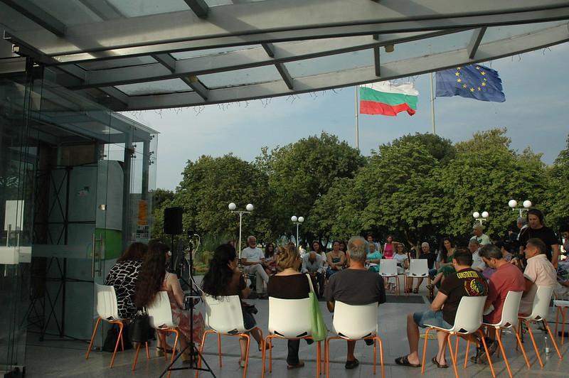 Ein sicherer Raum für demokratische Ideen: Unser musikalischer Abend in Burgas