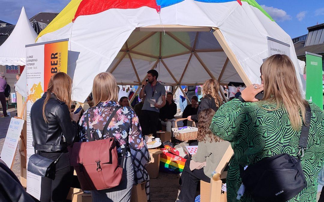 Grundrechte und demokratische Dialoge auf der WorldPride 2021 in Kopenhagen